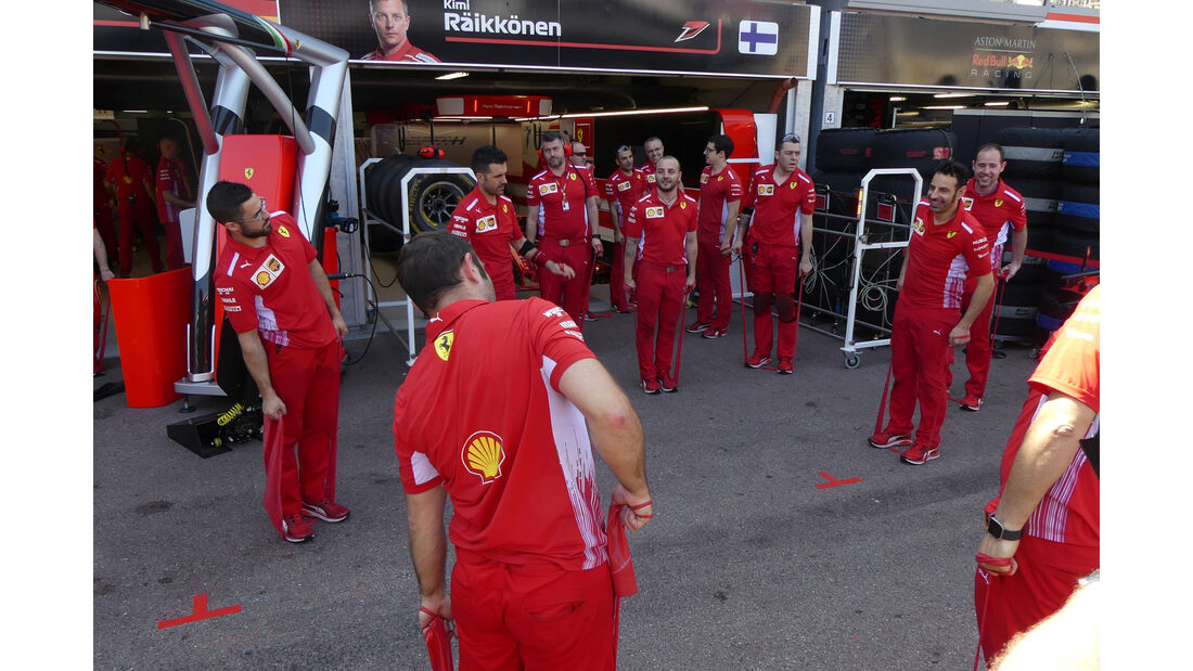 Ferrari - GP Monaco - Formel 1 - Freitag - 25.5.2018
