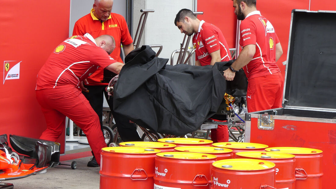 Ferrari - GP Österreich 2017 - Spielberg - Formel 1 - Mittwoch - 5.7.2017