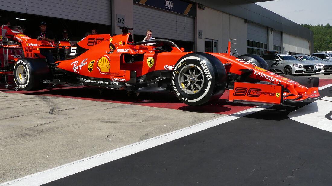 Ferrari - GP Österreich - Spielberg - Donnerstag - 27. Juni 2019