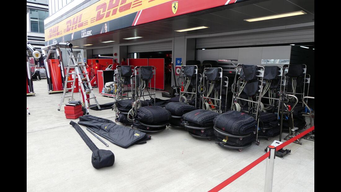 Ferrari - GP Russland - Sochi Autodrom - Mittwoch - 25.9.2019