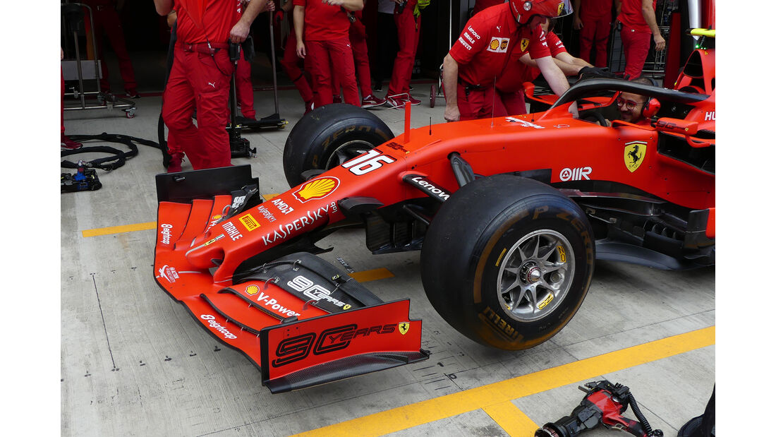 Ferrari - GP Russland - Sotschi - Formel 1 - Freitag - 27.9.2019