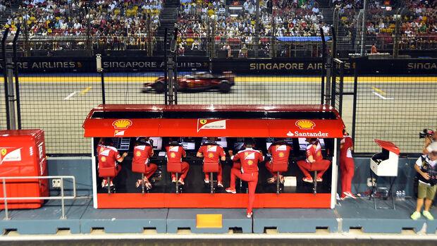 Ferrari - GP Singapur 2016