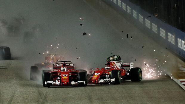 Ferrari - GB Singapura 2017