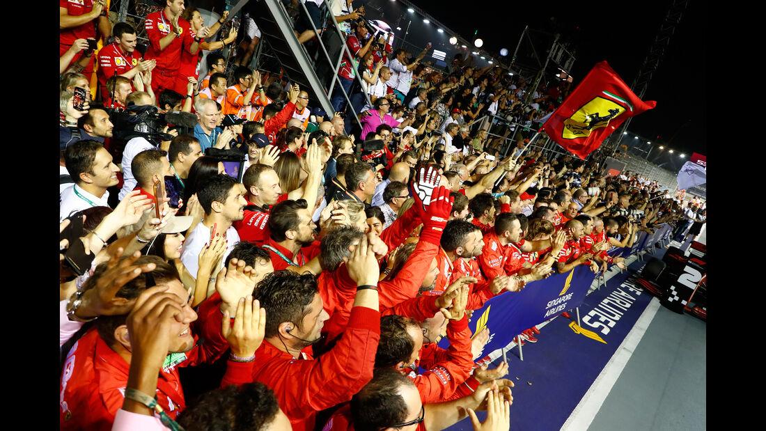 Ferrari - GP Singapur 2019 - Rennen