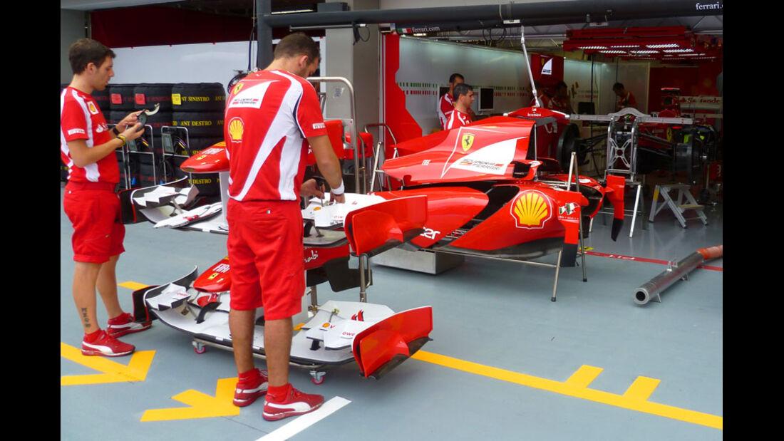 Ferrari - GP Singapur - 22. September 2011
