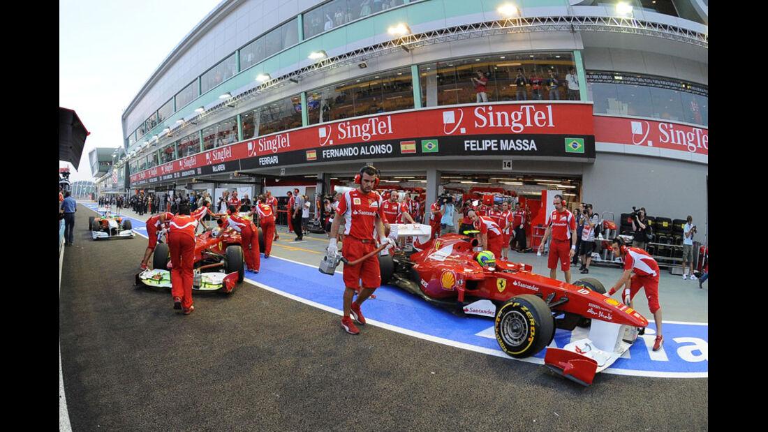 Ferrari - GP Singapur - 24. September 2011