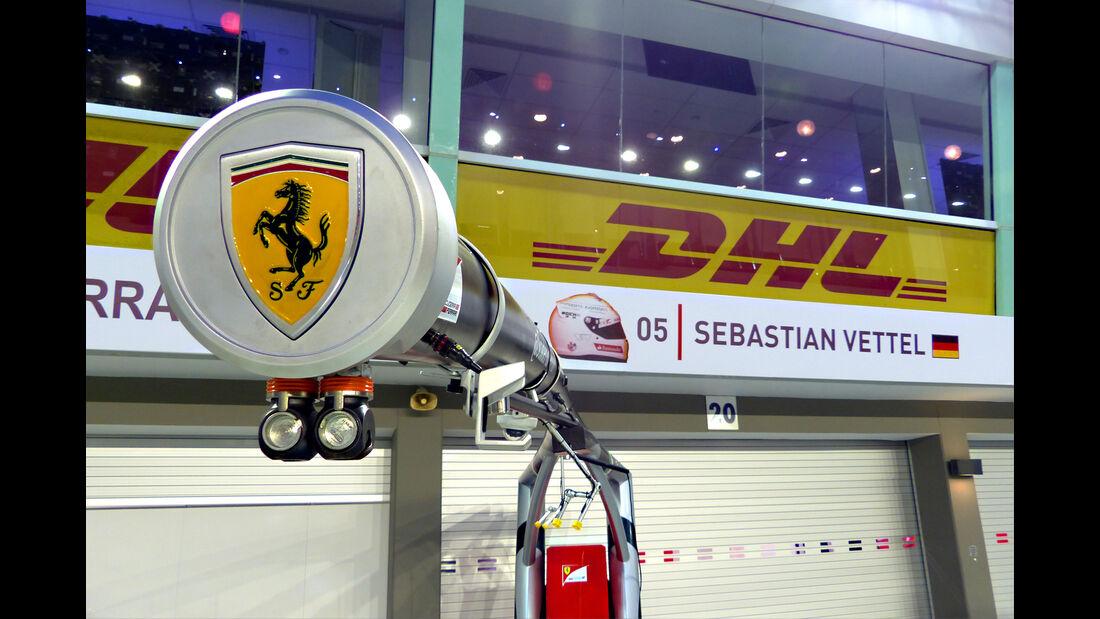 Ferrari - GP Singapur - Formel 1 - 16. September 2015