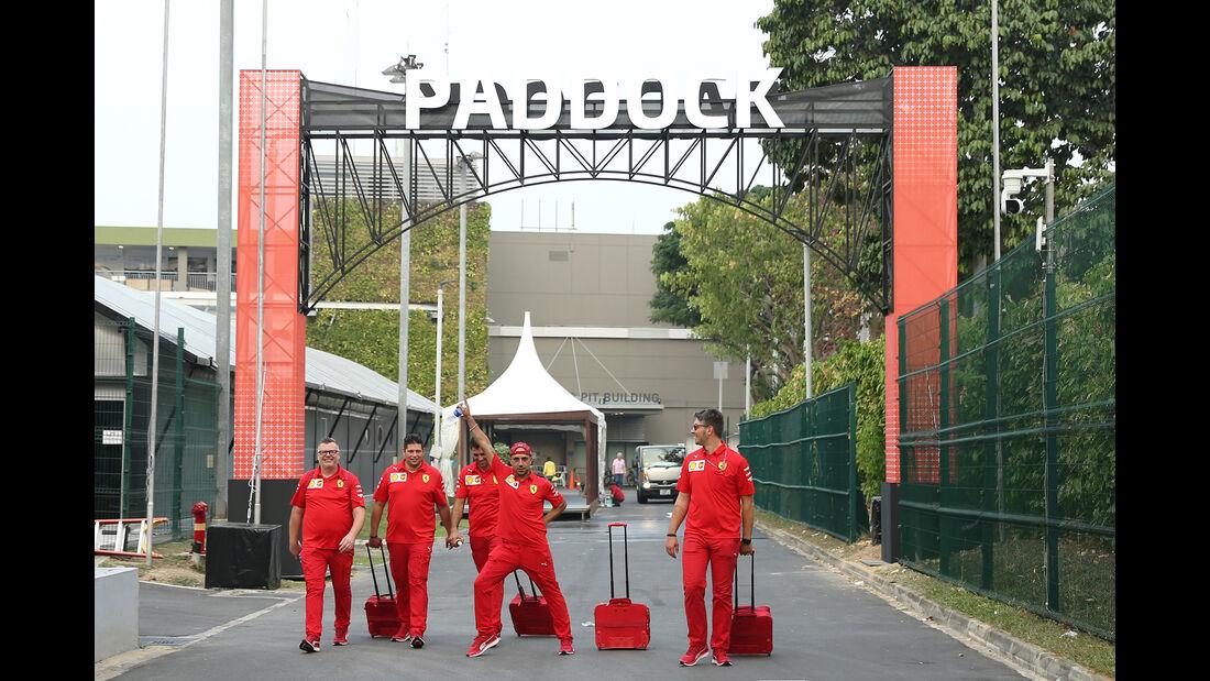 Ferrari - GP Singapur - Formel 1 - 18. September 2019