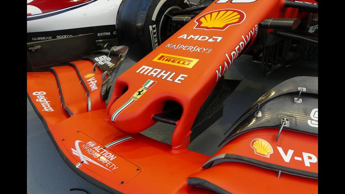 Ferrari - GP Singapur - Formel 1 - Donnerstag - 19.9.2019