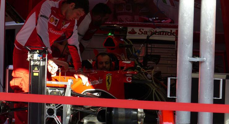 Ferrari - GP Spanien  2015 - Barcelona - Samstag - 9.5.2015