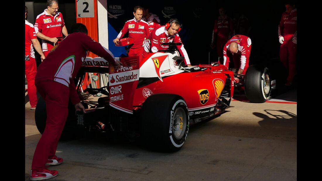 Ferrari - GP Spanien 2016 - Barcelona - F1 - Freitag - 13.5.2016