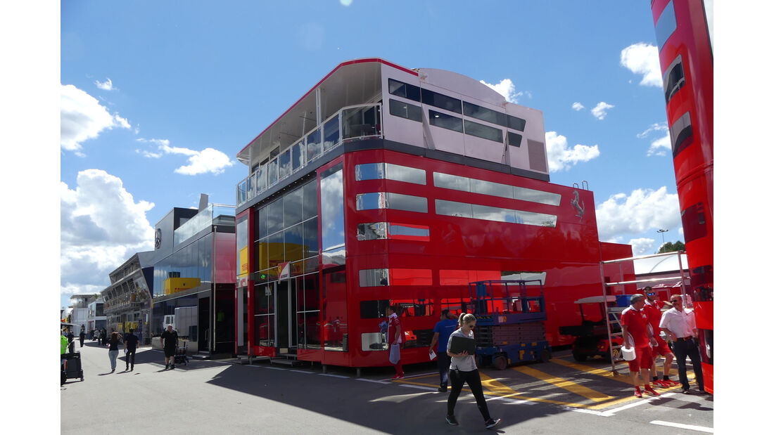 Ferrari - GP Spanien - Circuit de Barcelona-Catalunya - Mittwoch - 11. Mai 2016