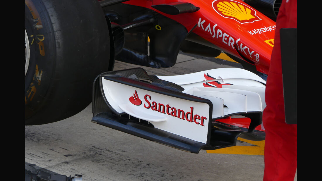 Ferrari - GP USA 2017 - Technik-Updates