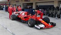 Ferrari - GP USA - Austin - Formel 1 - Donnerstag - 19.10.2017