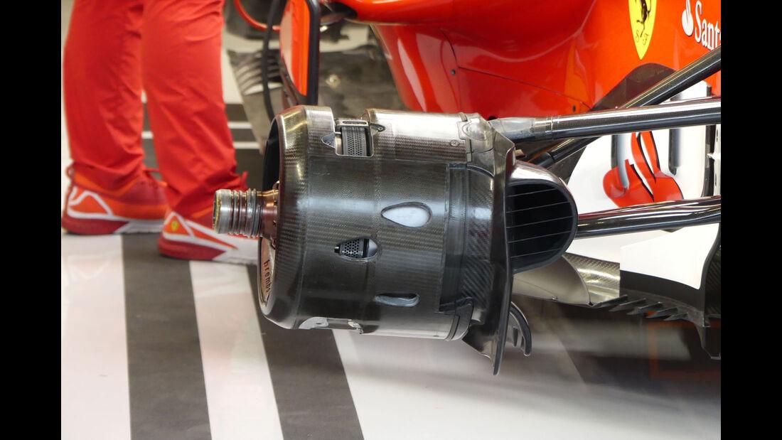 Ferrari - GP USA - Austin - Formel 1 - Freitag - 20.10.2017