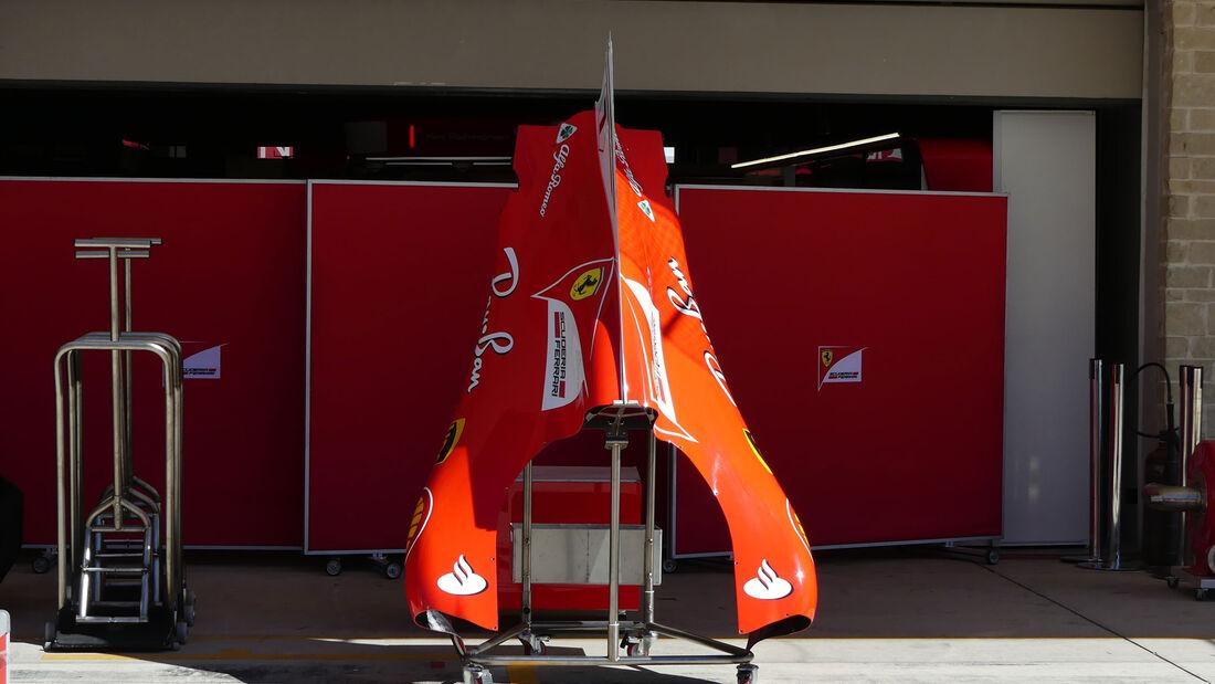 Ferrari - GP USA - Austin - Formel 1 - Mittwoch - 18.10.2017