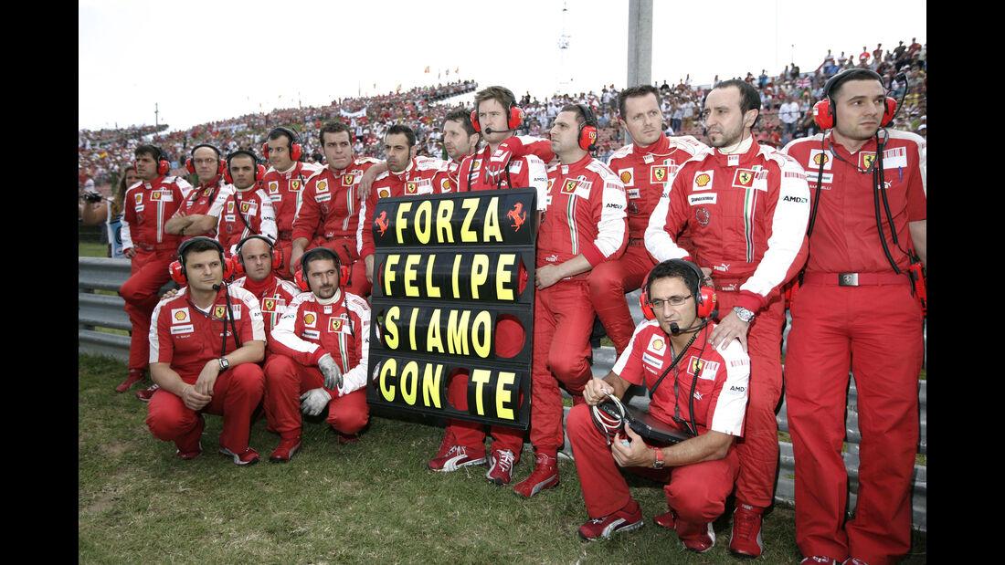 Ferrari - GP Ungarn 2009 - Budapest