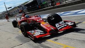 Ferrari - GP Ungarn 2014
