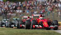 Ferrari - GP Ungarn 2015