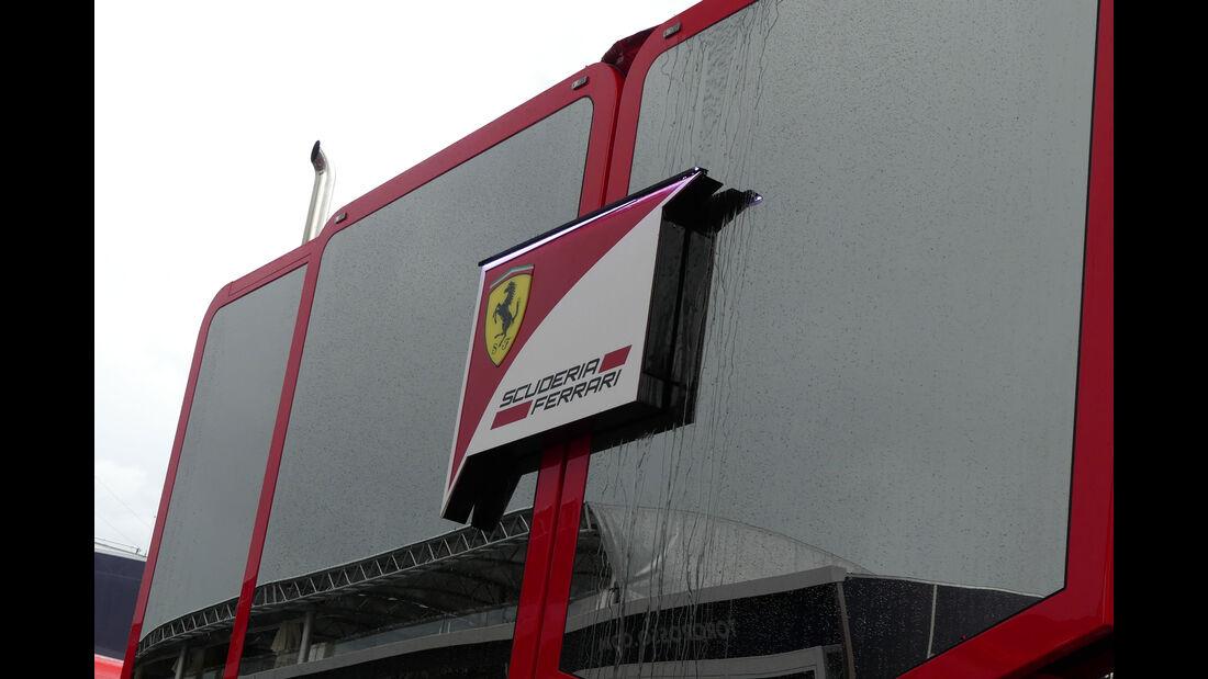Ferrari - GP Ungarn 2017 - Budapest - Formel 1 - Mittwoch - 26.7.2017