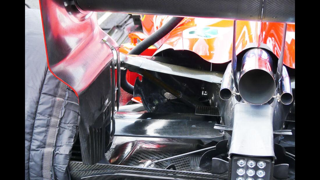Ferrari - GP  Ungarn 2018 - Technik-Updates