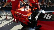 Ferrari - GP Ungarn - Budapest - Formel 1 - Donnerstag - 1.08.2019