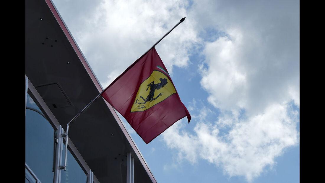 Ferrari - GP Ungarn - Budapest - Formel 1 - Donnerstag - 26.7.2018