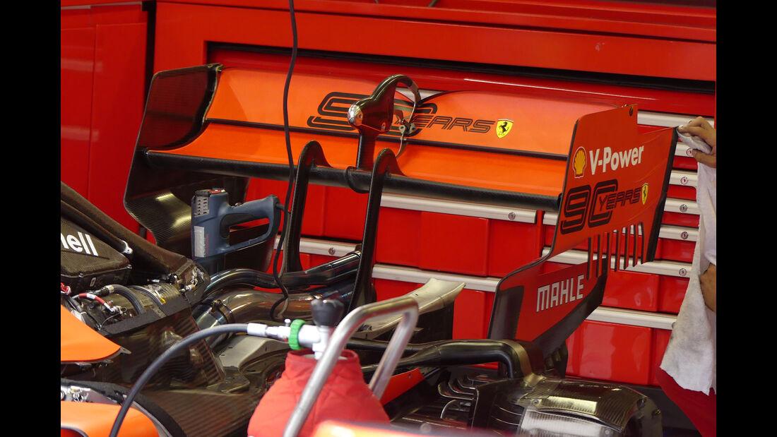 Ferrari - GP Ungarn - Budapest - Formel 1 - Freitag - 2.8.2019