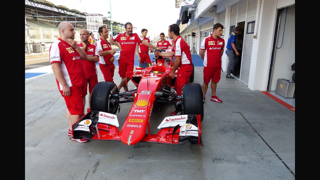 Ferrari - GP Ungarn - Budapest - Freitag - 24.7.2015
