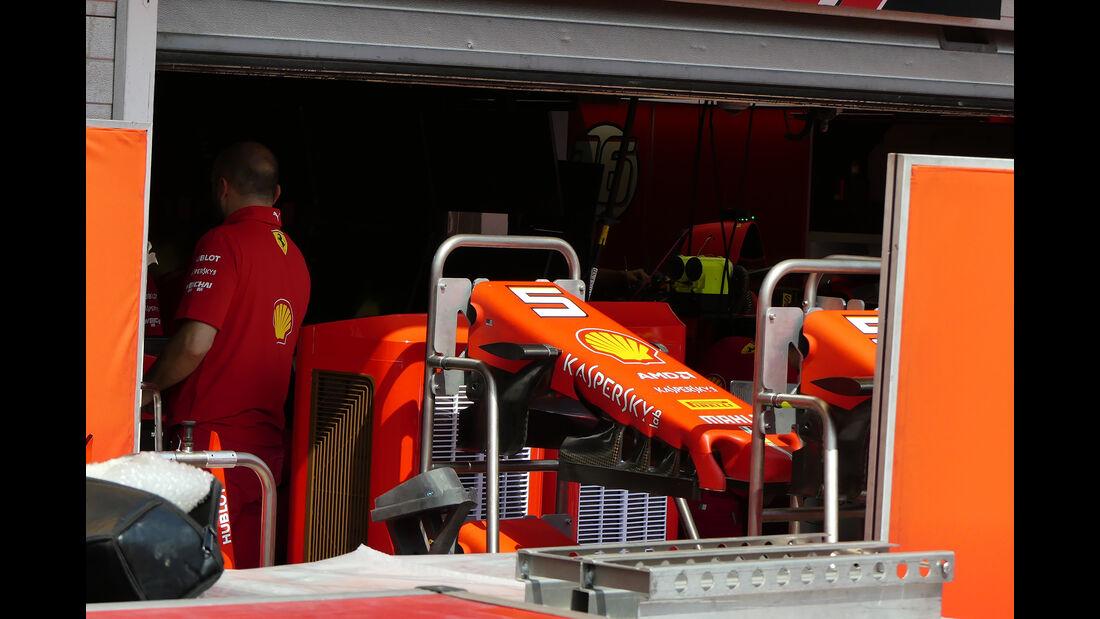 Ferrari - GP Ungarn - Budapest - Hungaroring - Mittwoch - 31.07.2019