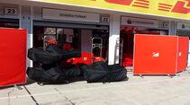 Ferrari - GP Ungarn - Budapest - Mittwoch - 22.7.2015