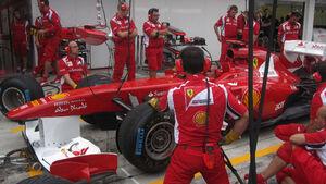 Ferrari - GP Ungarn - Formel 1 - 28.7.2011