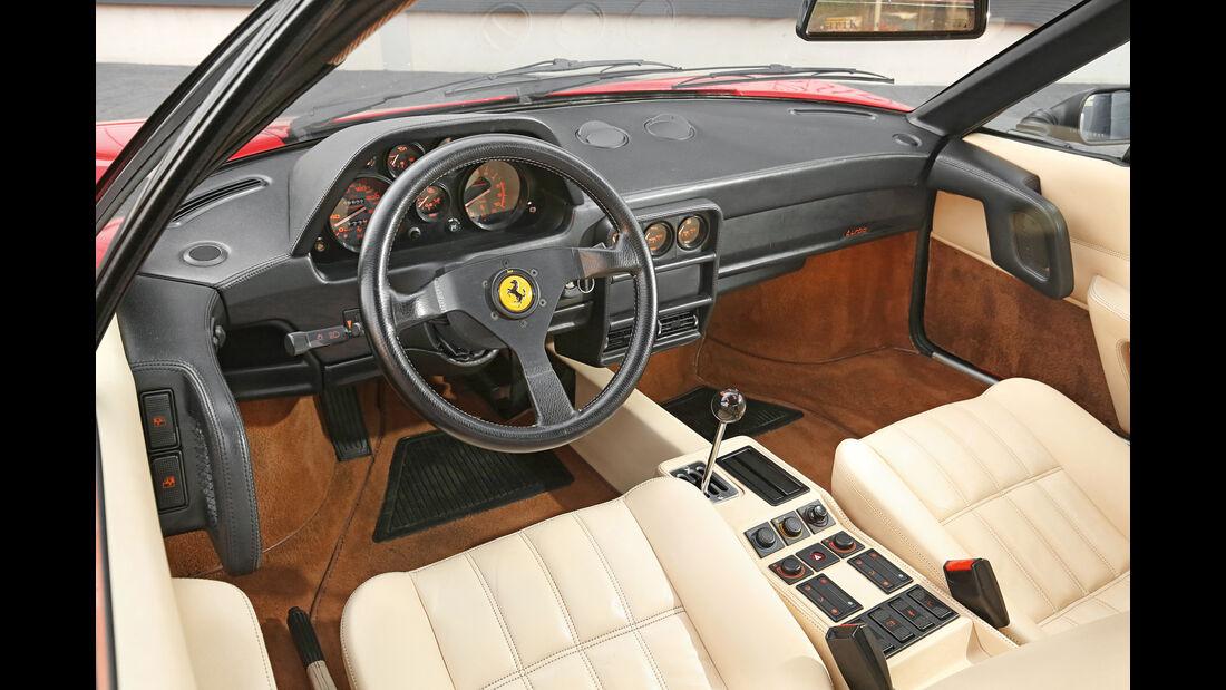 Ferrari GTB Turbo, Cockpit