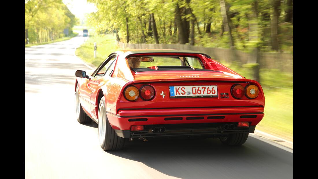 Ferrari GTB Turbo, Heckansicht