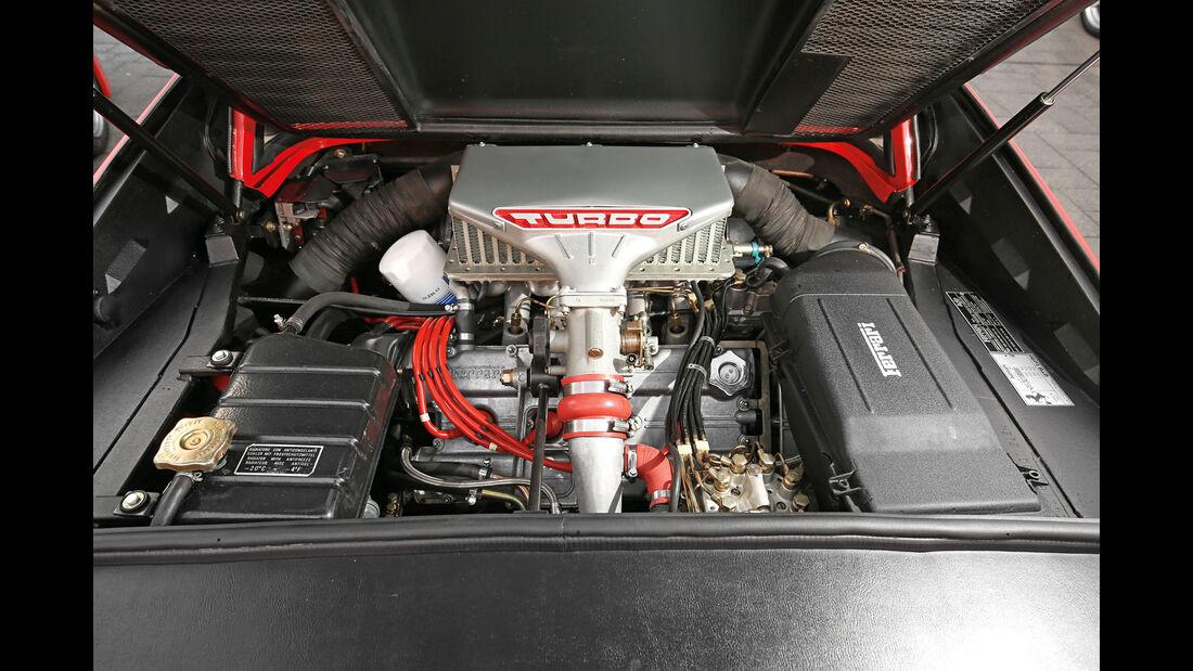 Ferrari GTB Turbo, Motor