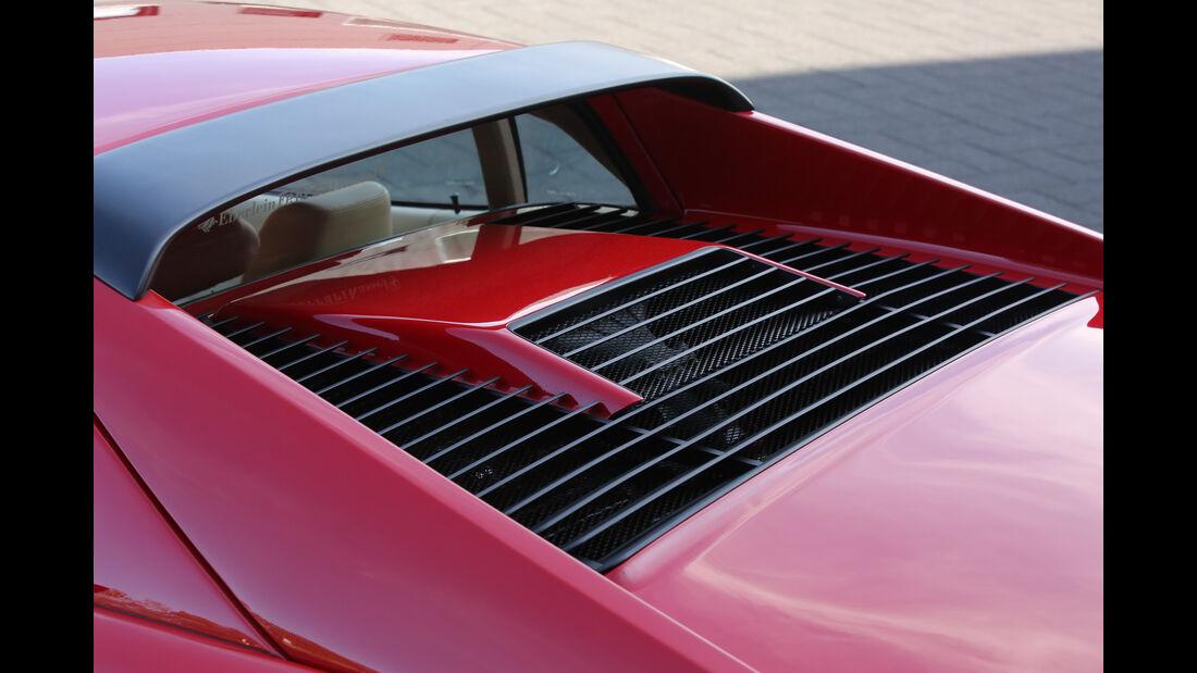 Ferrari GTB Turbo, Motorabdeckung
