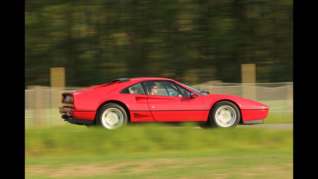 Ferrari GTB Turbo, Seitenansicht