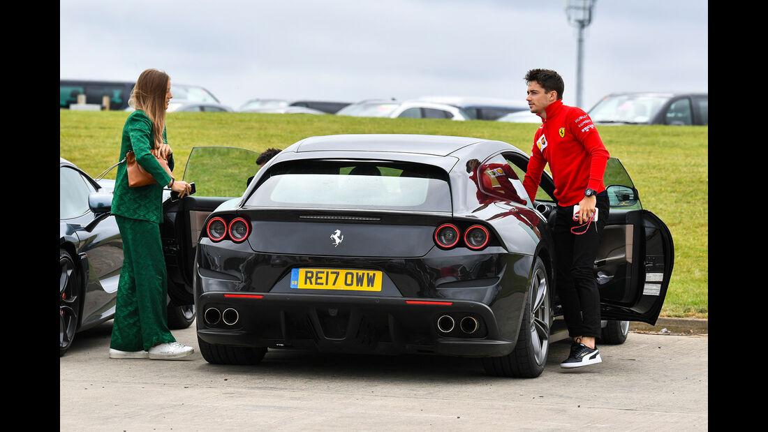 Ferrari GTC4 Lusso - Dienstwagen - F1-Piloten 2019