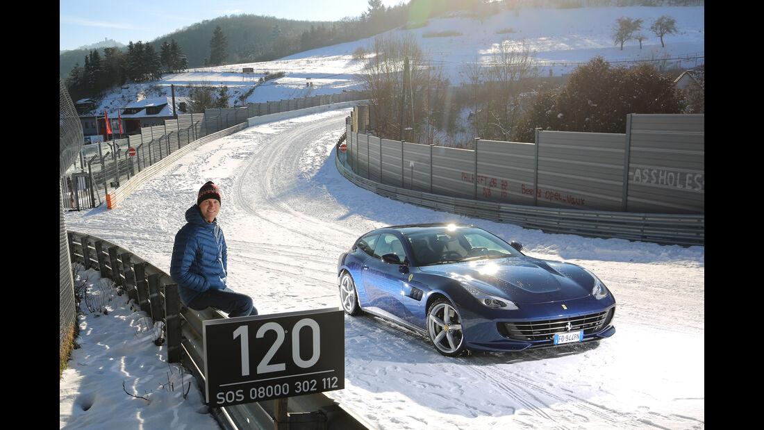 Ferrari GTC4 Lusso, Frontansicht