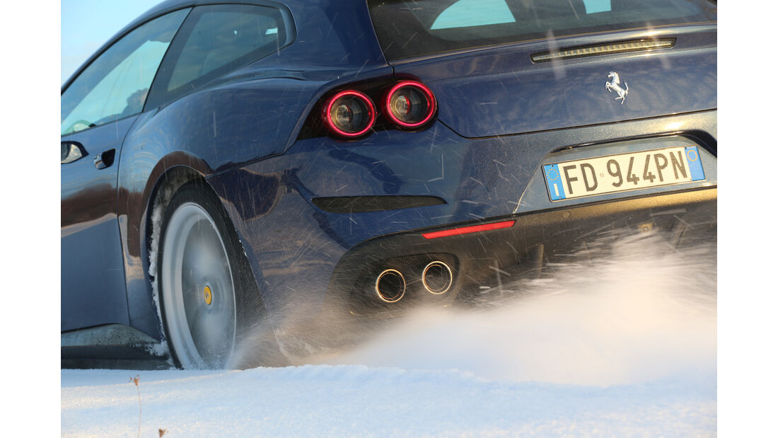 Ferrari GTC4 Lusso, Heck