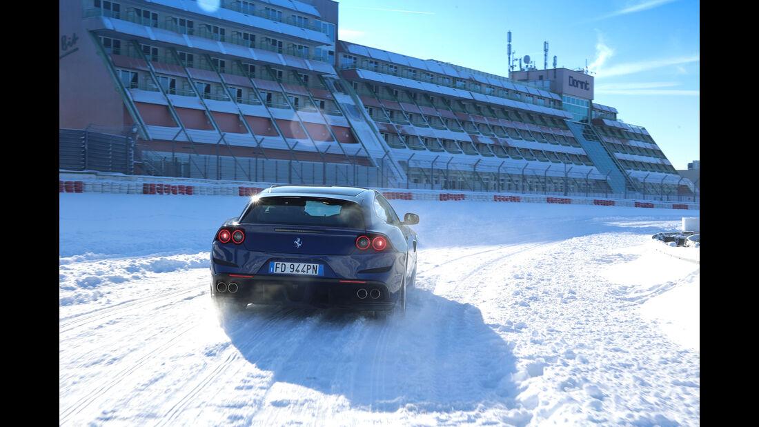 Ferrari GTC4 Lusso, Heckansicht