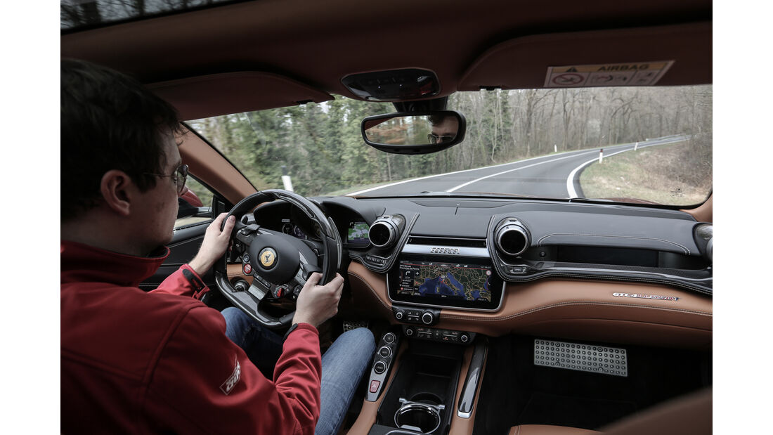 Ferrari GTC4LussoT, V8, Fahrbericht