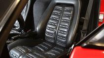 Ferrari GTO, Fahrersitz