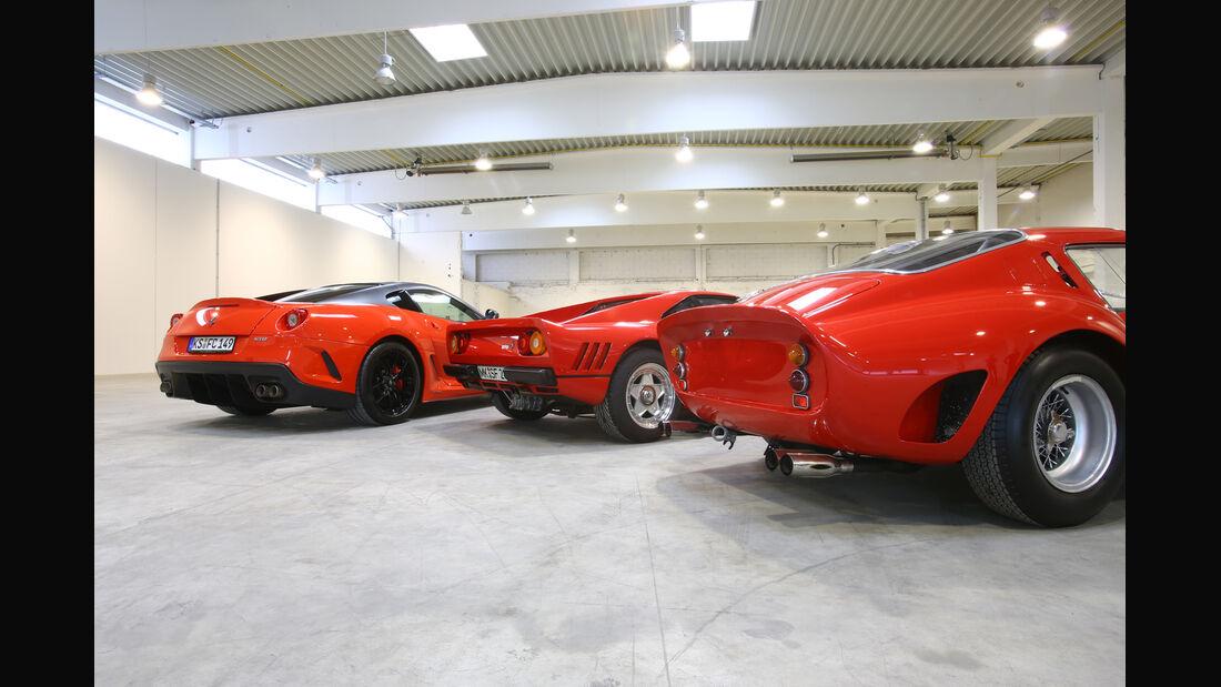 Ferrari GTO, Ferrari 250 GTO, Ferrari 599 GTO, Heck