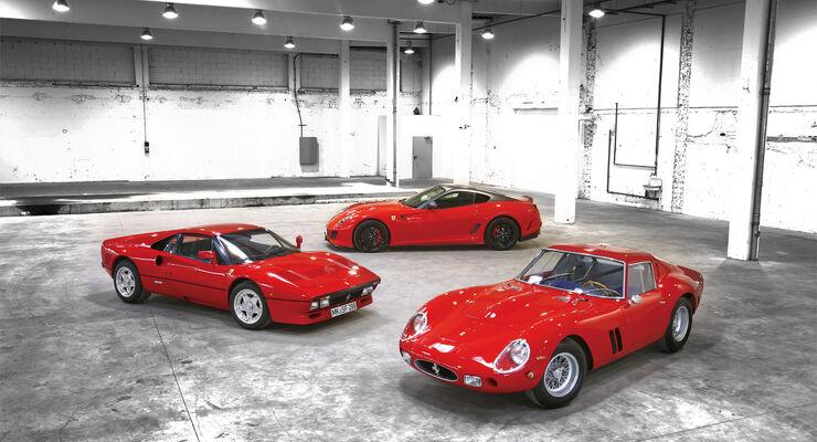 Ferrari GTO, Ferrari 250 GTO, Ferrari 599 GTO