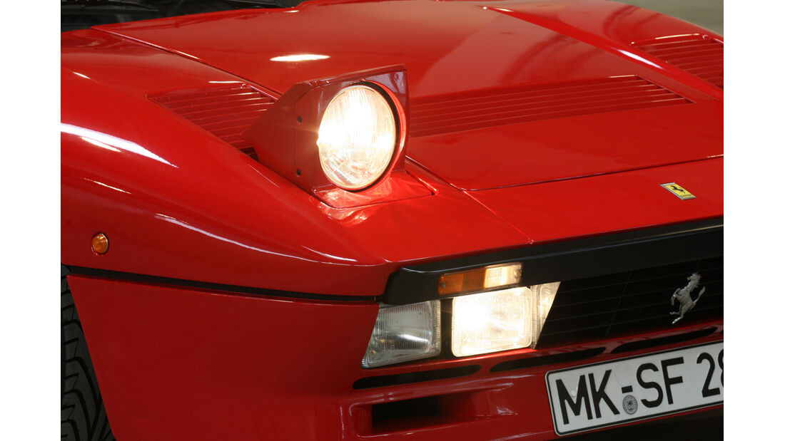 Ferrari GTO, Frontscheinwerfer