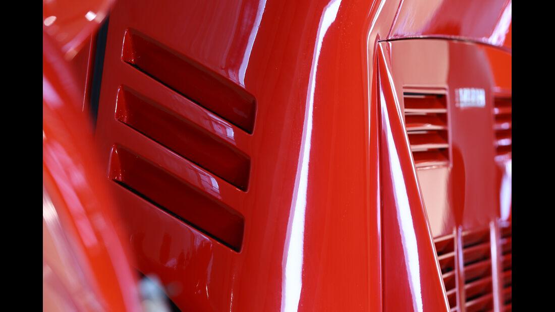 Ferrari GTO, Luftschlitze