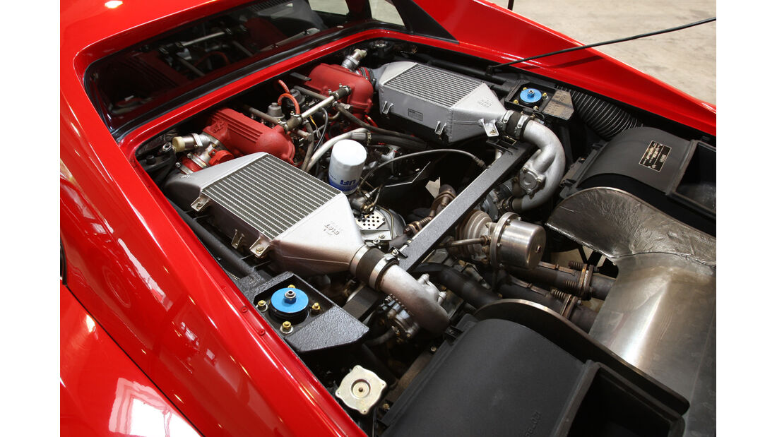 Ferrari GTO, Motor