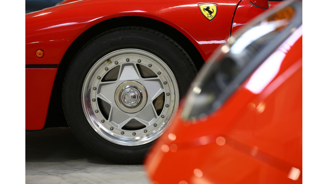 Ferrari GTO, Rad, Felge