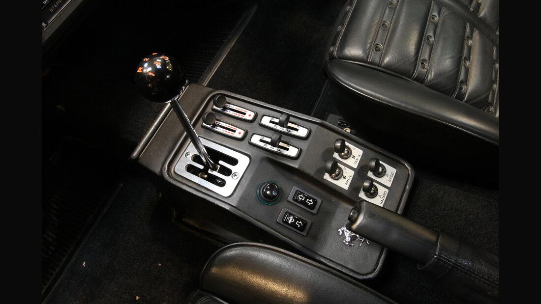 Ferrari GTO, Schalthebel, Schaltknauf